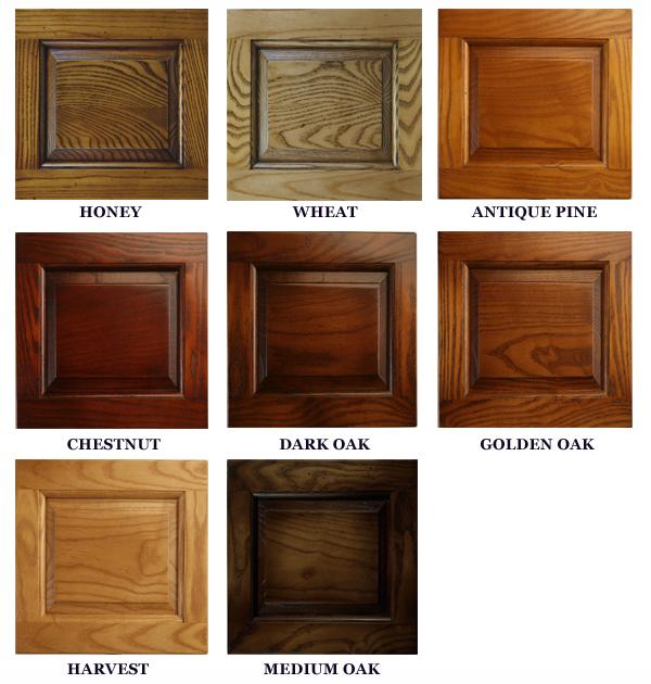 Wood finish windsor chairs