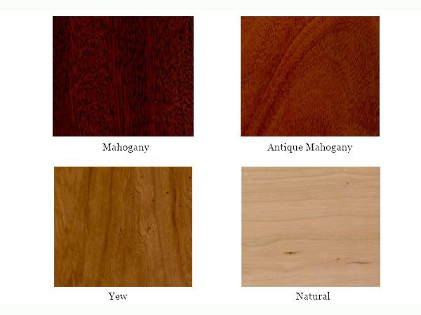 choice of wood