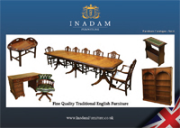 Inadam Furniture Reproduction brochure