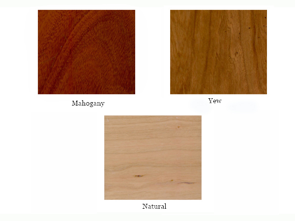 Mahogany Yew Natural