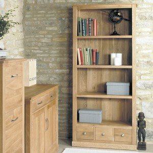 Large 3 drawer bookcase