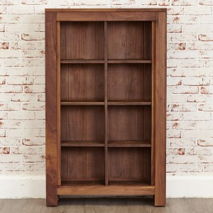 DVD/CD Walnut Storage Open Unit