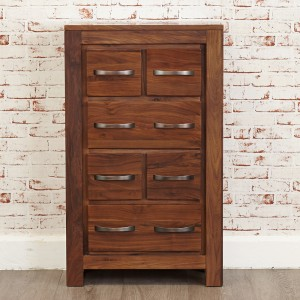 DVD/CD Walnut Storage Chest