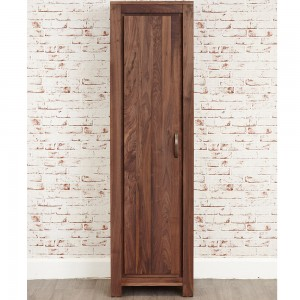 Tall Walnut Shoe Cupboard