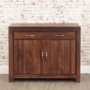 Walnut Hidden Home Desk