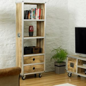 60cm Tall Bookcase Reclaimed