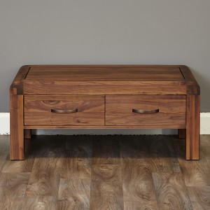 100 Cm 4 Drawer Coffee Table