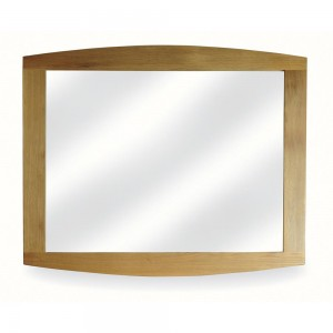 Retro Living Oak Mirror