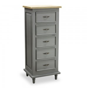 Tallboy Chest of 5 Drawers