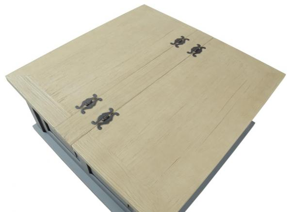 Square Coffee Table Storage Trunk