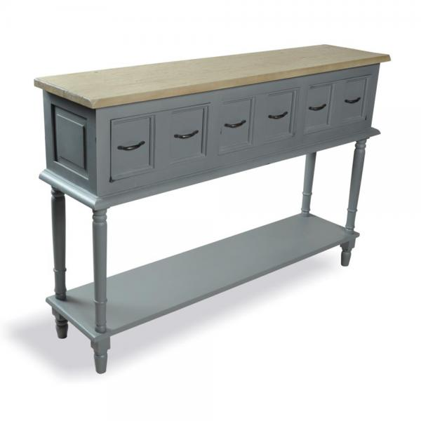 3 Drawer Sideboard with Shelf