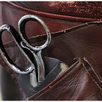 Chesterfield leather shears