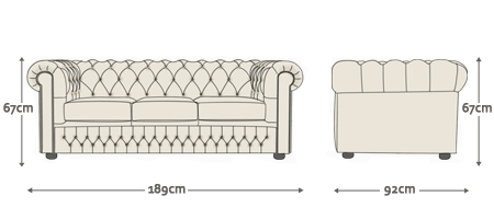 Classic Chesterfield Sofa Chair