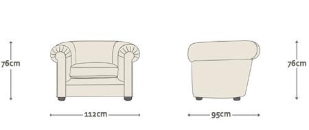 Cuthbert Chesterfield Sofa Chair
