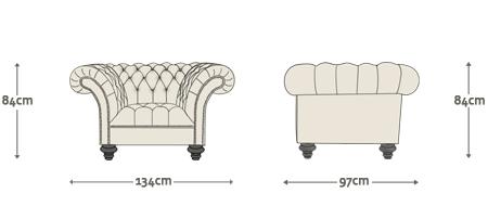 Edward Chesterfield Sofa Chair