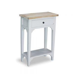 1 Drawer 1 Shelf Side Table