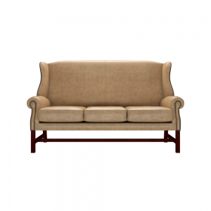 Grand Library Wing Chesterfield Sofa Chair