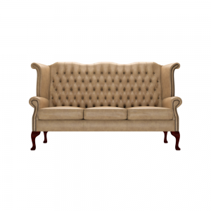 Queen Mary Wing Chesterfield Sofa Chair