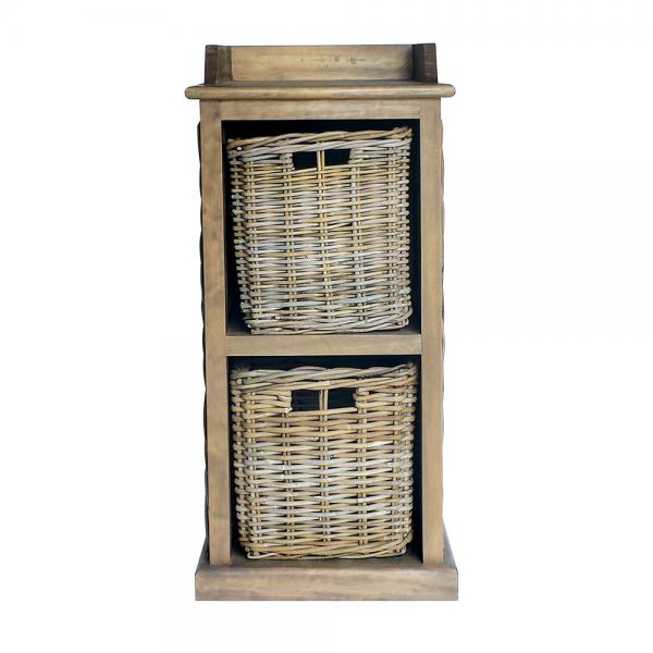 Small Storage Unit 2 Baskets
