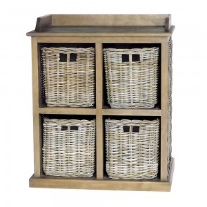 Large Storage Unit 2 over 2 baskets