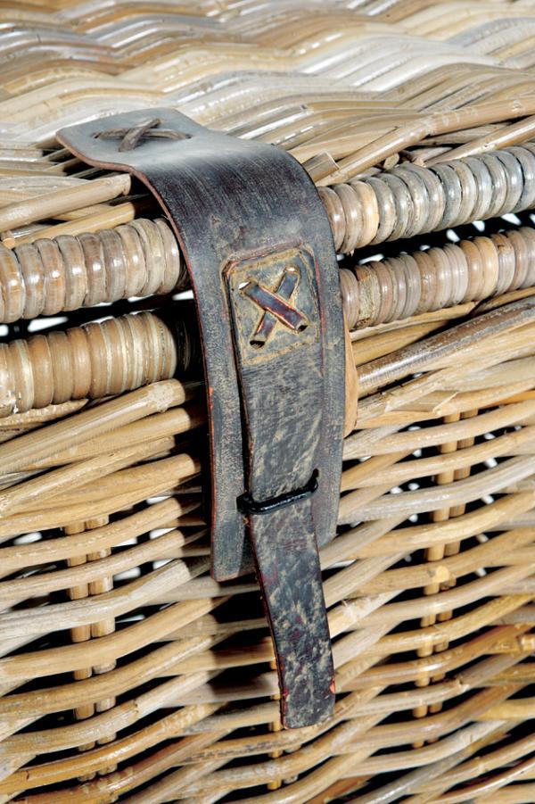 Rattan Storage Bench