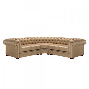 Classic Corner Chesterfield Sofa