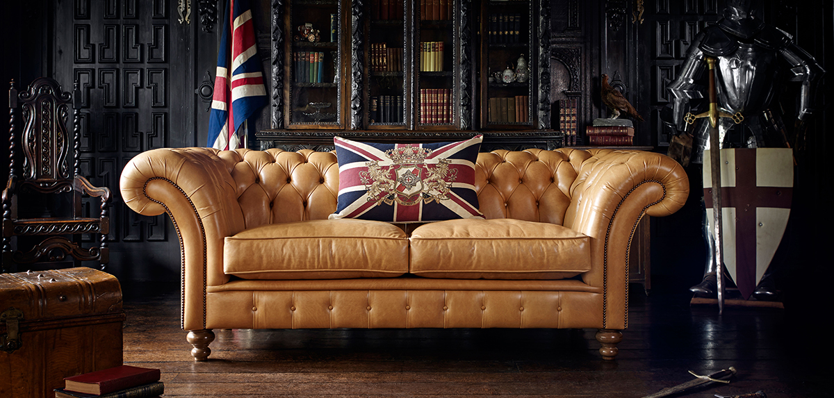 Traditional English Chesterfield Sofas