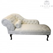 Own fabric chaise longue