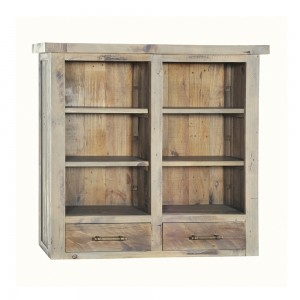 Top Bookcase for Small 2 Door 2 Drawer Sideboard