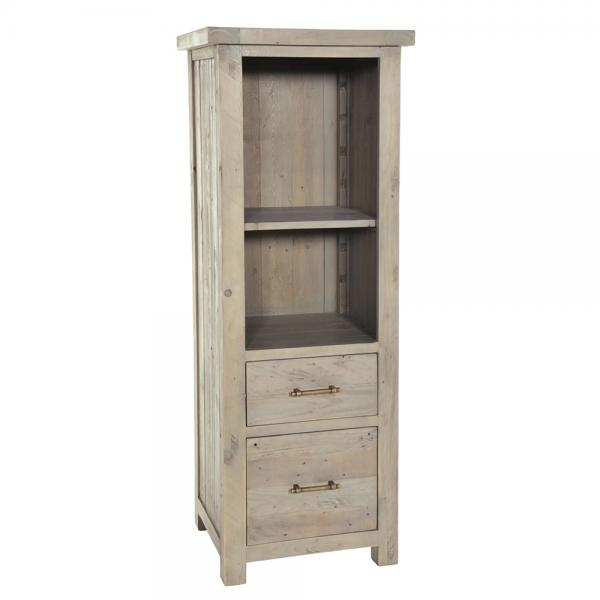 Bookcase with 2 Filing Drawers