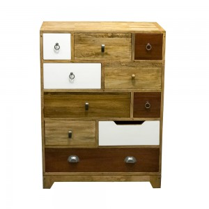 10 Drawer Tall Chest-Neutral
