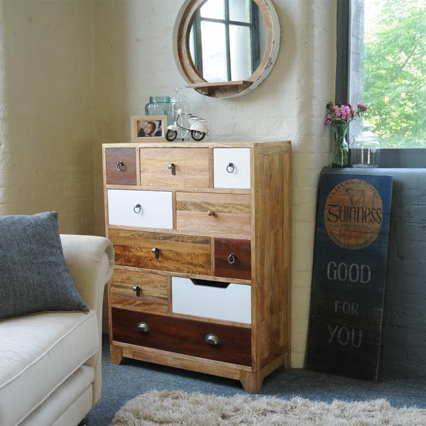 10 Drawer Tall Chest
