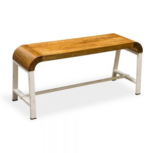 Lounge Bench-Retro Mango Wood