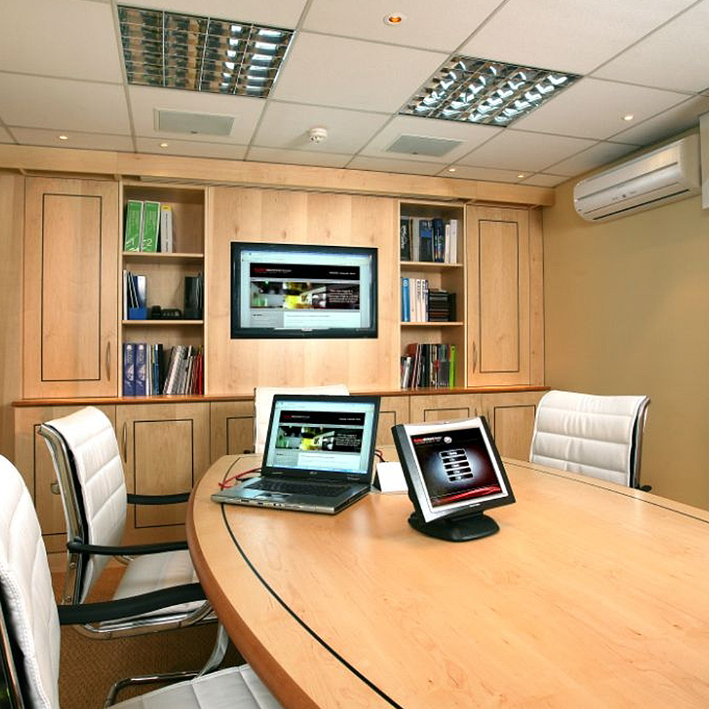 Bespoke contemporary conference room