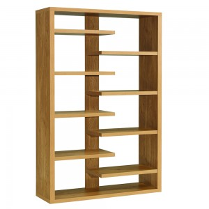 thin shelf designer display unit