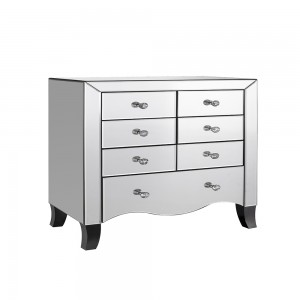 7 Drawer Chest Mirrored
