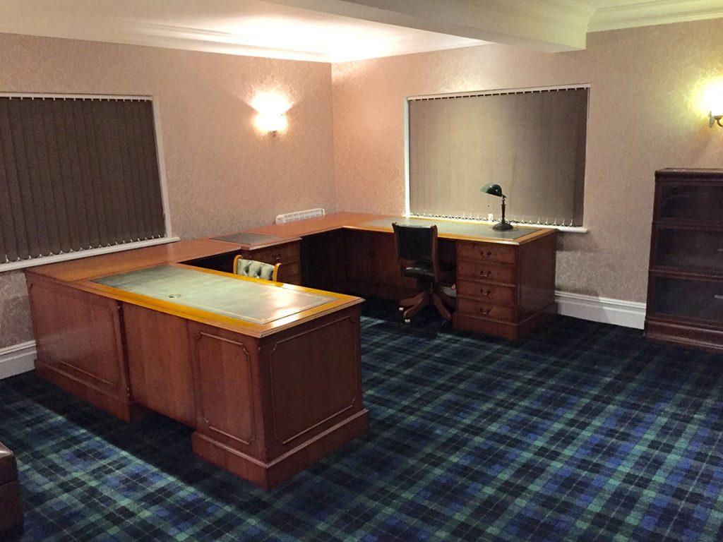 Bespoke Yew Desk