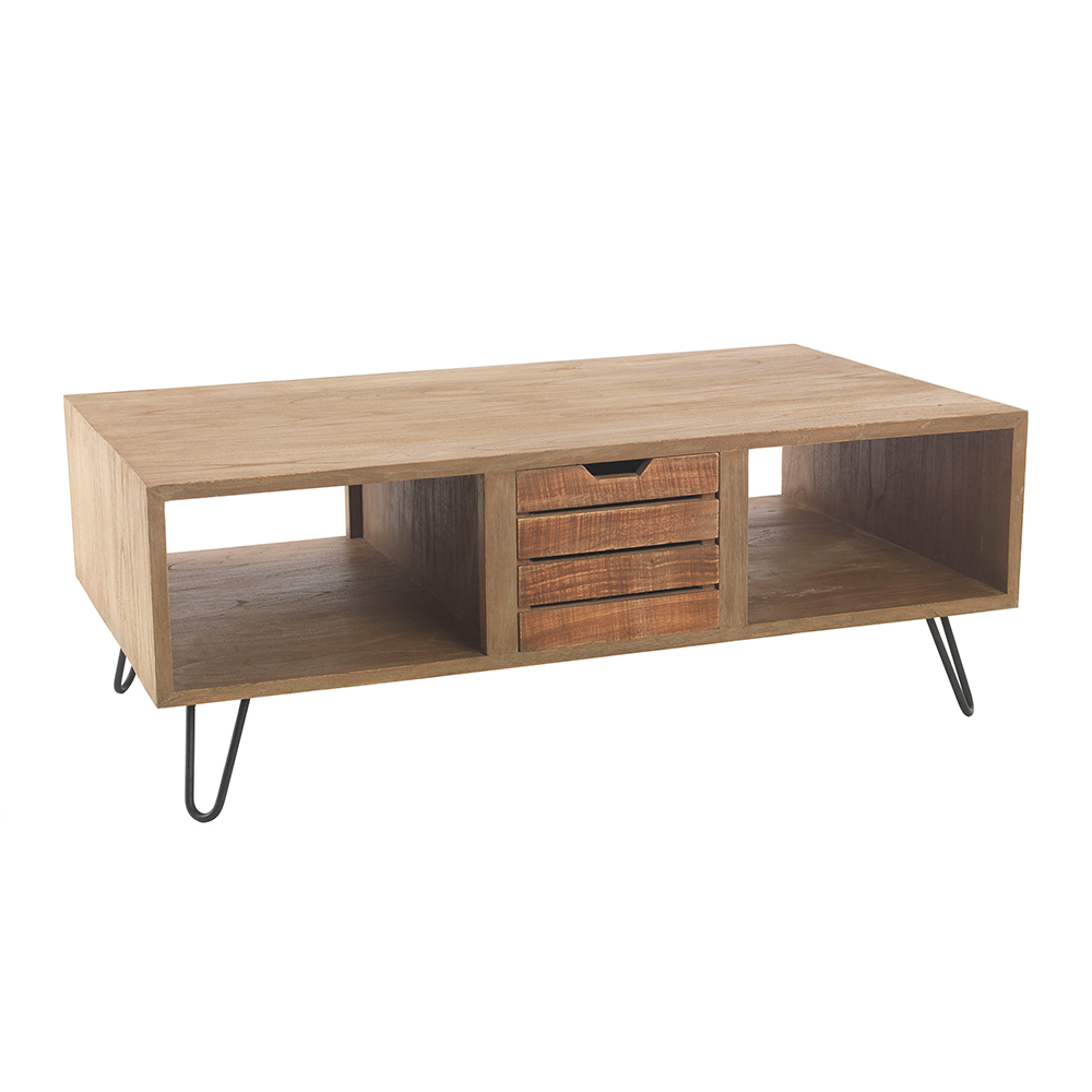 Inadam furniture coffee table from the industrial rustic furniture collection