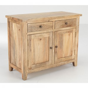 2 Drawer Mango Sideboard