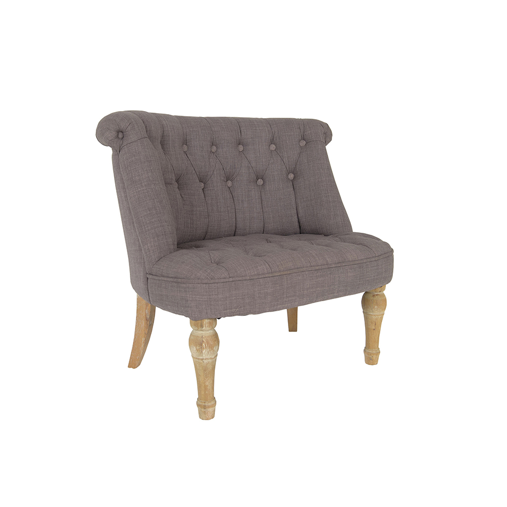 Inadam Furniture Grey Cosy Chair From The Fabric Chair