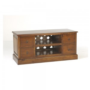 TV Unit with DVD Drawers