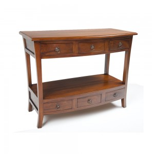 French Mahogany Console Table
