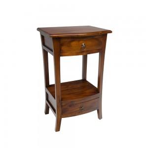 French Mahogany Telephone Table