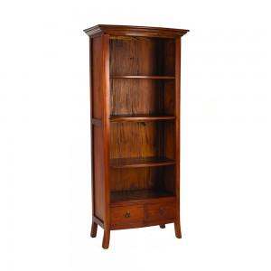 French Mahogany Large Bookcase