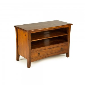 French Mahogany Small TV Unit