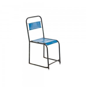 Metal Tube Framed Stacking Chair