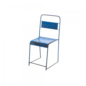 Metal Solid Framed Stacking Chair