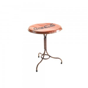 Metal Round Bistro Table