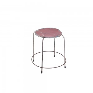 Metal Round Stackable Stools