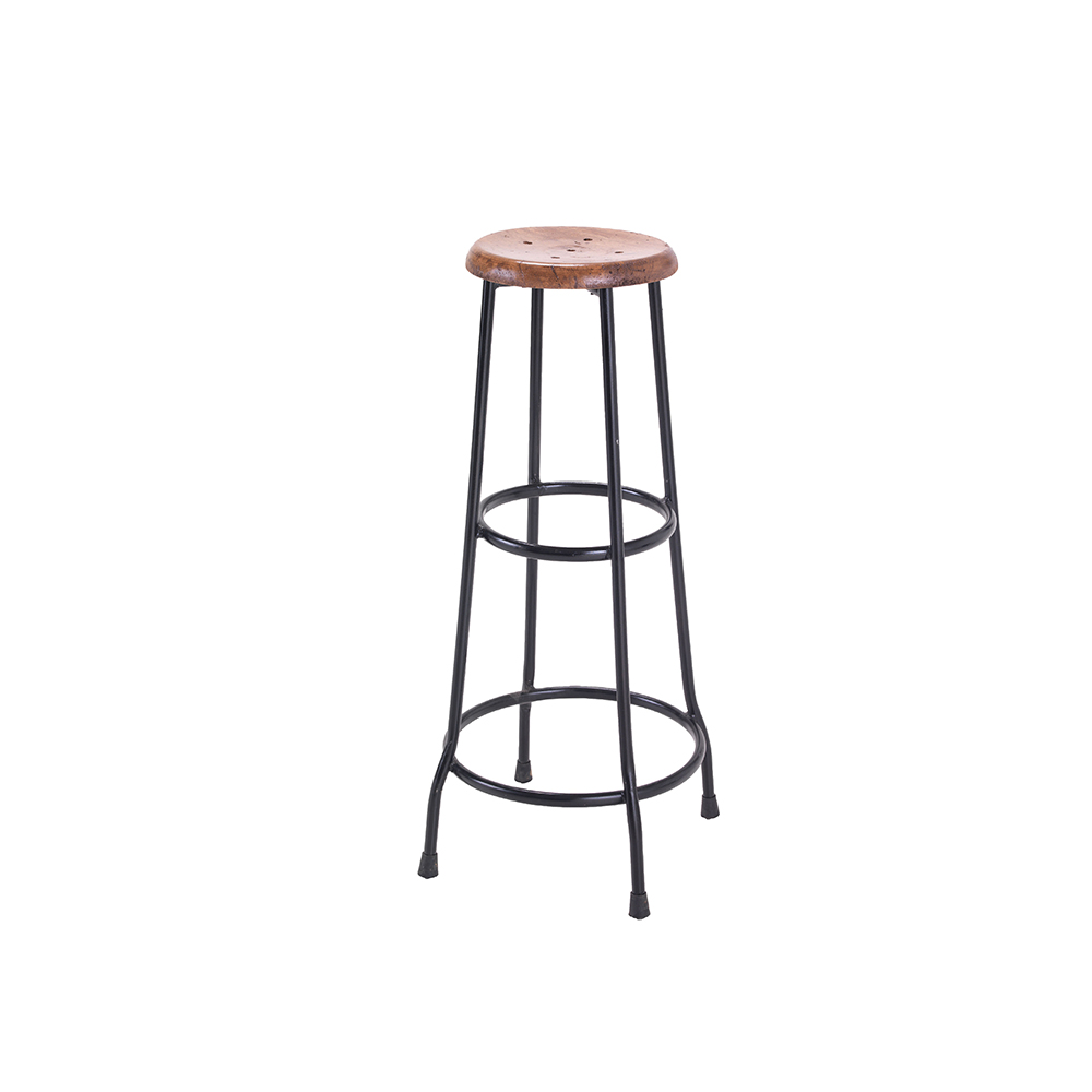 Inadam Furniture Metal And Wood Bar Stools Industrial